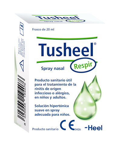 TusheelRespir® facilita la eliminación del moco